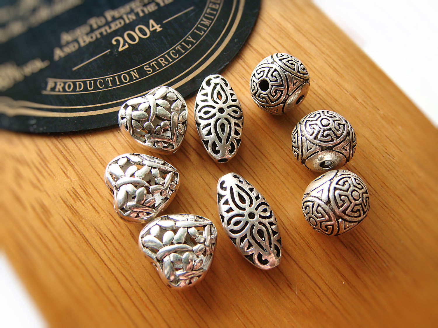 Metal beads in assortment 1, Beads1, Bryansk,  Фото №1