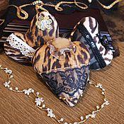 Подарки к праздникам ручной работы. Ярмарка Мастеров - ручная работа Сердце текстильное Гламур. Handmade.
