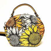 Сумки и аксессуары handmade. Livemaster - original item bag. Semicircle shape