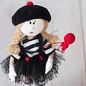 Куклы и игрушки ручной работы. Ярмарка Мастеров - ручная работа Кукла Мим. Handmade.