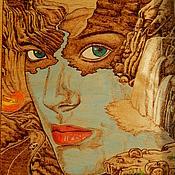 """Картины и панно ручной работы. Ярмарка Мастеров - ручная работа Картина """"Мать-Земля"""". Handmade."""
