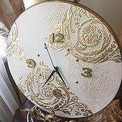 Для дома и интерьера ручной работы. Ярмарка Мастеров - ручная работа Часы настенные Ар-деко золото. Handmade.