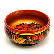 handmade. Livemaster - original item Painted cup D18,5, 8,5 H, . Bowl. Handmade.