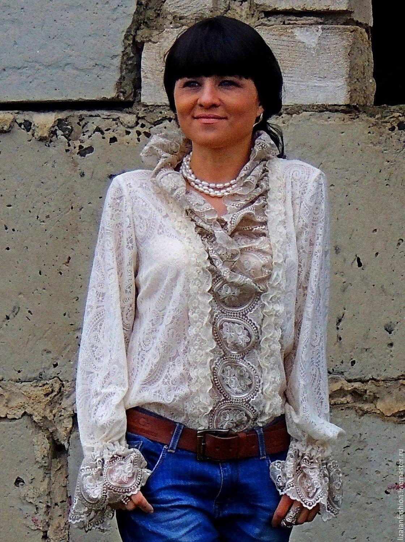 Купить блузки из гипюра доставка
