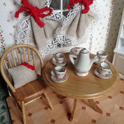 Куклы и игрушки ручной работы. Ярмарка Мастеров - ручная работа. Купить Кукольный чайный сервиз. Handmade. Чайный сервиз