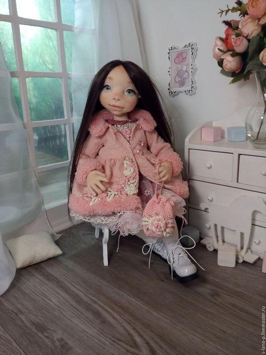 Коллекционные куклы ручной работы. Ярмарка Мастеров - ручная работа. Купить Авторская интерьерная коллекционная кукла.. Handmade. Комбинированный, сетка