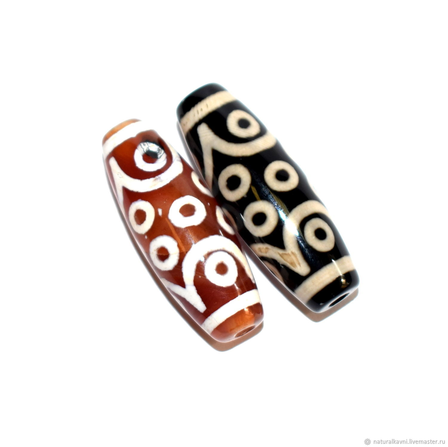 Tibetan Dzi bead 15 eyes, Beads1, Moscow,  Фото №1