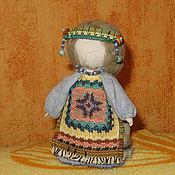 Куклы и игрушки ручной работы. Ярмарка Мастеров - ручная работа Куколка на счастье. Handmade.