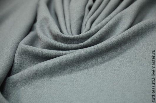 Шитье ручной работы. Ярмарка Мастеров - ручная работа. Купить Плательная ткань 04-003-2481. Handmade. Серый, шелк