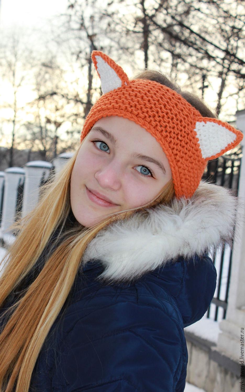 Лисьи ушки, повязка на голову, Повязки, Москва,  Фото №1
