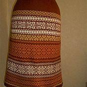 Юбки ручной работы. Ярмарка Мастеров - ручная работа Юбка вязаная с орнаментом. Handmade.