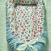 Работы для детей, ручной работы. Ярмарка Мастеров - ручная работа Кокон - гнездышко для новорожденного babynest. Handmade.