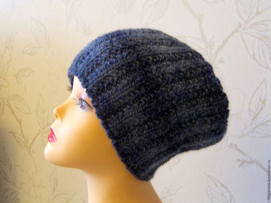 """Шапки ручной работы. Ярмарка Мастеров - ручная работа. Купить Вязаная шапка  """"Январь"""" шапка бини модная вязаная шапка. Handmade."""