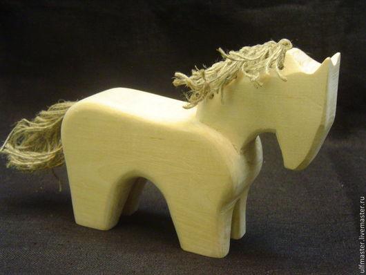 Игрушки животные, ручной работы. Ярмарка Мастеров - ручная работа. Купить Коник с гривой. Handmade. Бежевый, конь, лошадка, дерево