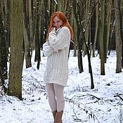 """Одежда ручной работы. Ярмарка Мастеров - ручная работа Свитер женский """"Снежность"""". Handmade."""