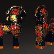 """Подарки к праздникам ручной работы. Ярмарка Мастеров - ручная работа Конь """"Сивка Бурка"""". Handmade."""