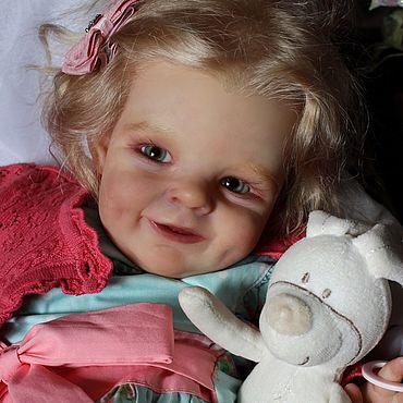 Куклы и игрушки ручной работы. Ярмарка Мастеров - ручная работа Малышка Ниночка,молд Shaya. Handmade.