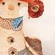 """Ароматизированные куклы ручной работы. Ярмарка Мастеров - ручная работа. Купить """"Веселина"""" Авторская кукла. Handmade. Бежевый, текстильная кукла"""