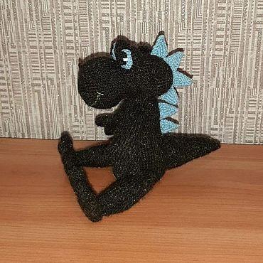 Куклы и игрушки ручной работы. Ярмарка Мастеров - ручная работа Игрушки: дракон. Handmade.
