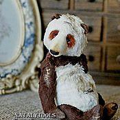 """Куклы и игрушки ручной работы. Ярмарка Мастеров - ручная работа мишка-тедди панда """"Благо"""". CaiFu коллекционный авторский медведь тедди. Handmade."""