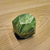 Украшения ручной работы. Ярмарка Мастеров - ручная работа Коробочка для кольца из Стабилизированного дерева. Handmade.
