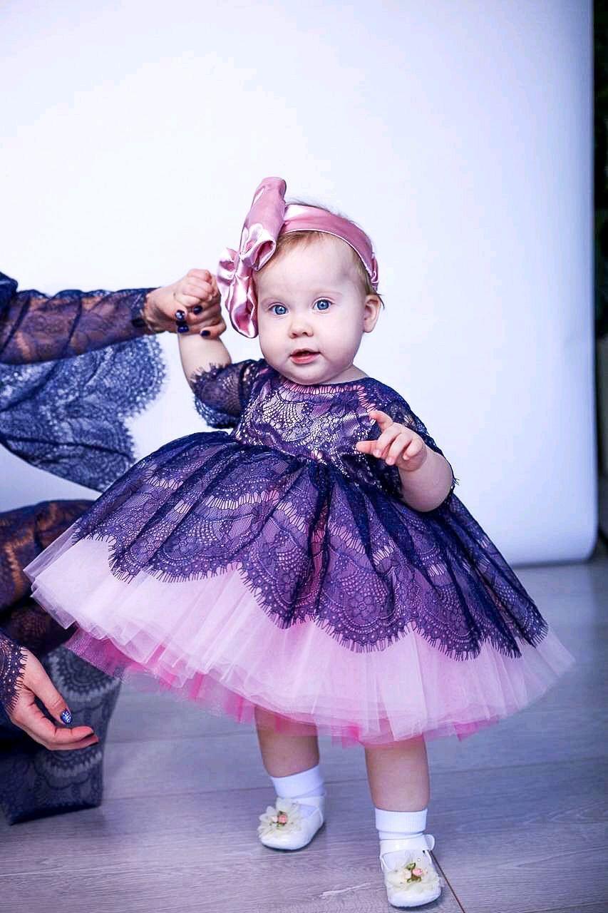 Кружевное платье для девочки, Платья, Домодедово,  Фото №1