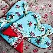 Сувениры и подарки ручной работы. Ярмарка Мастеров - ручная работа Пряничные сердечки с стиле шебби шик. Handmade.