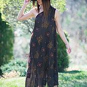 Одежда ручной работы. Ярмарка Мастеров - ручная работа Платье, Длинное платье, Летнее платье ЕУГ. Handmade.