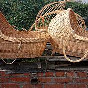 Для дома и интерьера handmade. Livemaster - original item Cradle for baby made of natural vines, unsteady, cradle. Handmade.