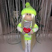 Куклы и игрушки ручной работы. Ярмарка Мастеров - ручная работа Интерьерная кукла ручной работы Хиллари.. Handmade.
