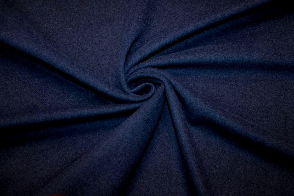 Ткань пальтовая Л9189 , т.синяя, MaxMara, Италия, Ткани, Москва,  Фото №1