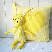 Куклы и игрушки manualidades. Livemaster - hecho a mano Juguete komforter a. splyushka y el airbag para las niñas. Handmade.
