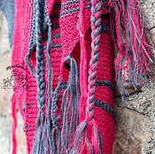 """Аксессуары ручной работы. Ярмарка Мастеров - ручная работа Шаль в стиле бохо """"Краса, длинная коса"""". Handmade."""