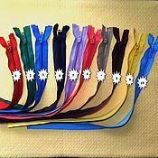 Материалы для творчества ручной работы. Ярмарка Мастеров - ручная работа молнии спираль разъемные 40 см. Handmade.