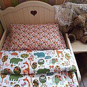 Для дома и интерьера handmade. Livemaster - original item Set of child bed linen