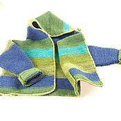 Джемперы ручной работы. Ярмарка Мастеров - ручная работа Детский вязанный кардиган для мальчика «Дюффель». Handmade.