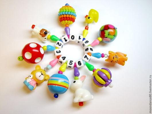 """Развивающие игрушки ручной работы. Ярмарка Мастеров - ручная работа. Купить Перебиралка """"Моя прелесть.."""". Handmade. Развивающие игрушки"""