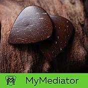 Музыкальные инструменты handmade. Livemaster - original item The mediator coconut: CocoStrum. Handmade.