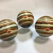 Сувениры и подарки handmade. Livemaster - original item Planet Jupiter 14 cm. Handmade.