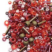 Бисер ручной работы. Ярмарка Мастеров - ручная работа Бисер Микс TOHO №3218 красно-бронзовый Японский бисер TOHO Beads 10гр. Handmade.