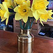 Винтаж handmade. Livemaster - original item Brass handmade can, Holland. Handmade.