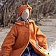 Куклы Тильды ручной работы. Ярмарка Мастеров - ручная работа. Купить Лизавета. Handmade. Лиса, лизавета, вискозный трикотаж