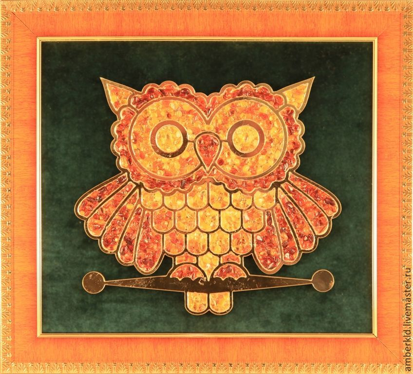 amber picture rectangle. handmade. gift student, gift for student, gift for teacher's day. A symbol of wisdom.Owl. the teacher's day.