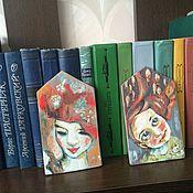 Картины и панно ручной работы. Ярмарка Мастеров - ручная работа Девушки. Handmade.