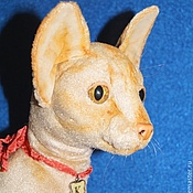 Куклы и игрушки ручной работы. Ярмарка Мастеров - ручная работа Ориентальная кошка Клеопатра, реалистичная игрушка. Handmade.