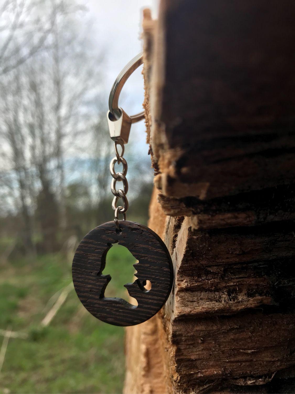 """Деревянныe брелоки коллекции """"Шерлок Холмс"""""""