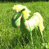Куклы и игрушки ручной работы. Ярмарка Мастеров - ручная работа Конь, в яблоках :))). Handmade.
