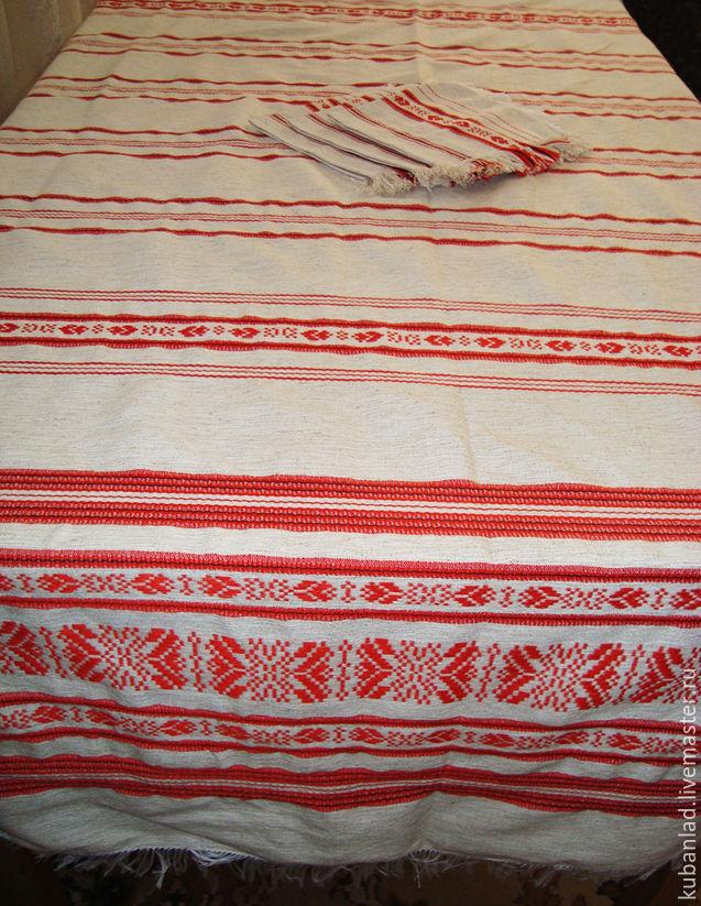 Tablecloth handmade doilies 'Slavic Zori', Tablecloths, Starominskaya,  Фото №1