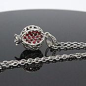 Украшения handmade. Livemaster - original item 925 GA0032 silver chain. Handmade.