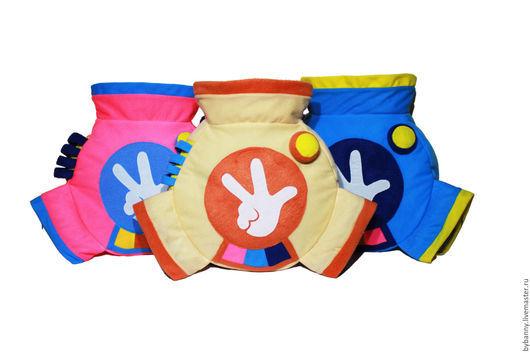"""Рюкзаки ручной работы. Ярмарка Мастеров - ручная работа. Купить Рюкзак Помогатор """"Фиксики"""". Handmade. Разноцветный, детский рюкзак"""
